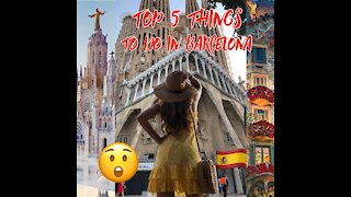 Top 5 Things to do in #Barcelona