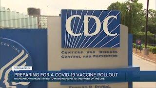 Preparing for a COVID-19 vaccine rollout in Michigan