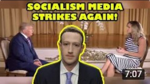 Facebook takes down video of Lara Trump interview with Donald Trump!   Big Tech FEARS Trump 2024!