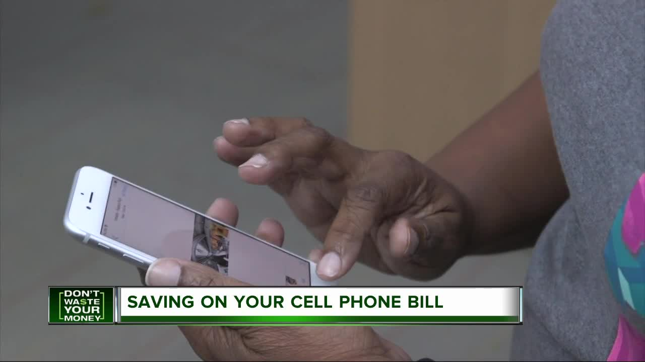 Saving on your cell phone bill