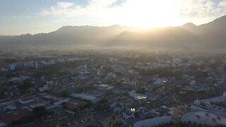 Morning Flight over Puerto Vallarta