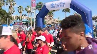 Virtual Autism Speaks walk held on Sunday