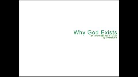 YTMND: Why God exists