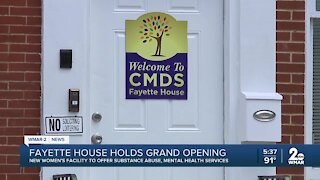 New treatment facility for women opens up in Baltimore