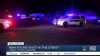 Man shot, killed near 59th Avenue and McDowell Road