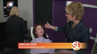 Sally Hayes will help your eyes pop with permanent eye liner