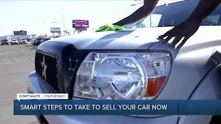 Smart steps to take to sell your car now