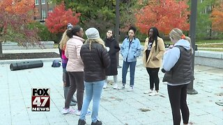 MSU students hold peaceful protests