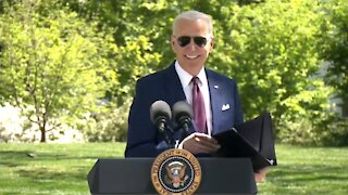 Biden Has Idiotic Explanation for Wearing His Mask Outside, Contrary to CDC Guidance