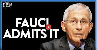 Fauci Stuns Media, He's Not Convinced of COVID Natural Origins