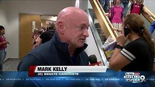 Senate candidate Mark Kelly visits Tucson