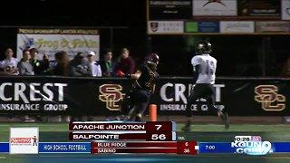High school football playoffs, round 1