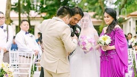 Singing Groom Beautifully Serenades Bride At Wedding