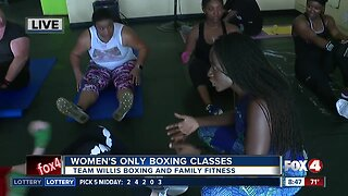 Fort Myers gym hosts women's only boxing classes