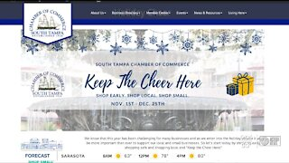 'Keep the Cheer Here' campaign encourages shopping local this holiday season