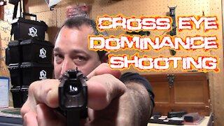 Cross Eye Pistol Shooting