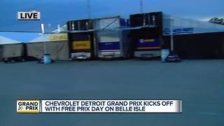 Chevrolet Detroit Grand Prix kicks off with Free Prix Day on Belle Isle