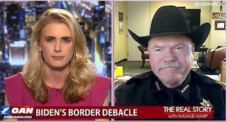 The Real Story - OANN Texas Migrant Overflow with Bill Waybourn