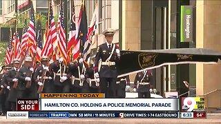 Hamilton County holding a police memorial parade