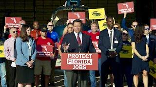 Gov. DeSantis Calls for Special Session to Protect Florida Jobs