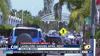 Solana Beach Landlord waives April rent for small businesses
