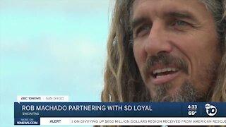 Rob Machado Foundation partners with SD Loyal