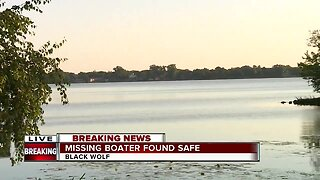 Missing boater found safe in Fond du Lac County