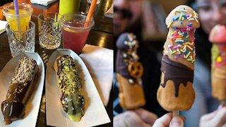 Cette gaufrerie qui offre des pâtisseries coquines ouvre ce printemps à Montréal
