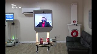 Robots become the newest social-distance tool