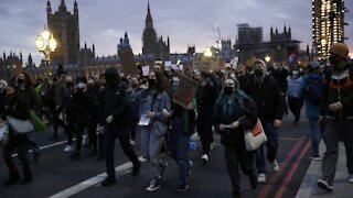 London Protesters March For Woman Killed By Police