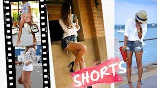 Shorts with Heels / Shorts con Tacones..