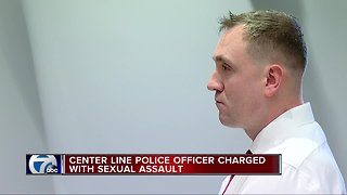 Center Line police officer charged with sex assault