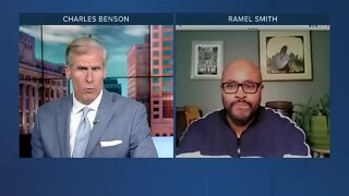 Ramel Smith discusses Milwaukee protests with our Charles Benson