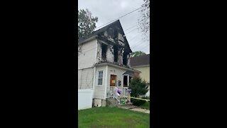 Fire at Arlington avenue Teaneck