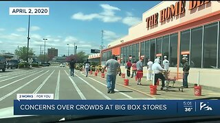 Concerns Over Stores Not Social Distancing