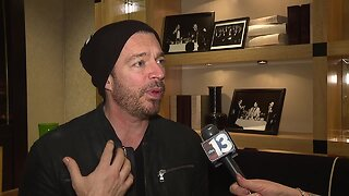 Raw interview with Harry Connick Jr.