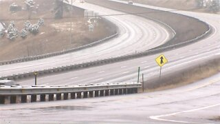 Drivers hit I-70 with delayed storm