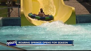 Roaring Springs kicks off 20th anniversary season Saturday