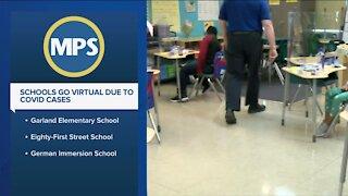 Three MPS schools go virtual after positive COVID-19 cases