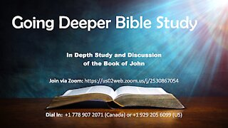 Bible Discussion Group - November 4th, 2020