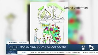 Del Mar artist creates children's picture books about COVID-19