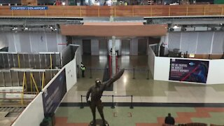 The Rebound: Denver Airport traffic, construction