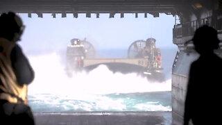 Iwo Jima conducts training in the Atlantic Ocean