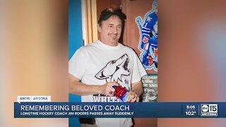 Remembering Jim Rogers: Arizona hockey coach has passed away