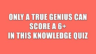 General Knowledge Quiz #2