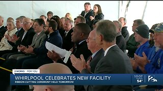 Whirlpool to Host Ribbon Cutting for New Facility Friday