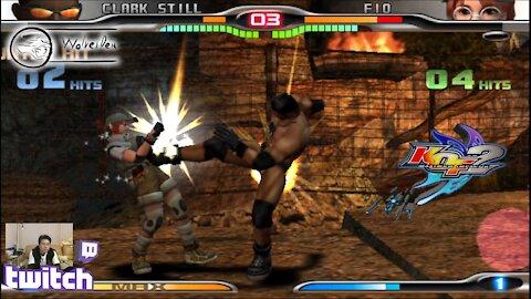 (PS2) KOF Maximum Impact 2 - 25 - Hard Challenge - Level 8
