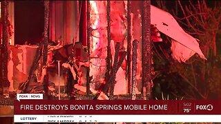 Fire destroys Bonita Springs home