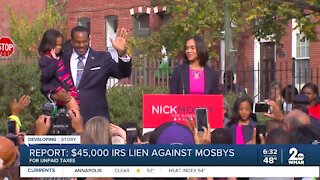 Report: $45,000 IRS lien against Mosbys