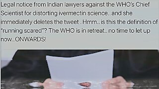 India Threatening Court Action Against WHO | 02.06.2021